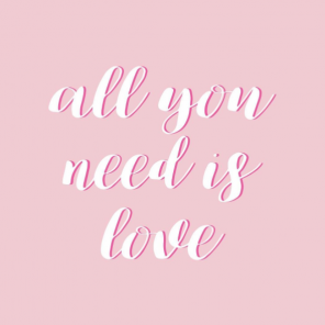 All you need is love on valentine's day - six lovely things