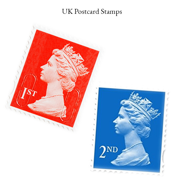 UK Postcard Stamps