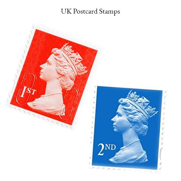 UK Postcard Stamps