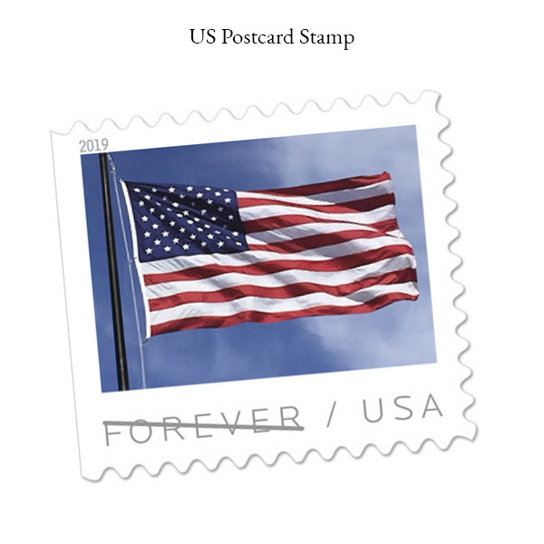US Postcard Stamp
