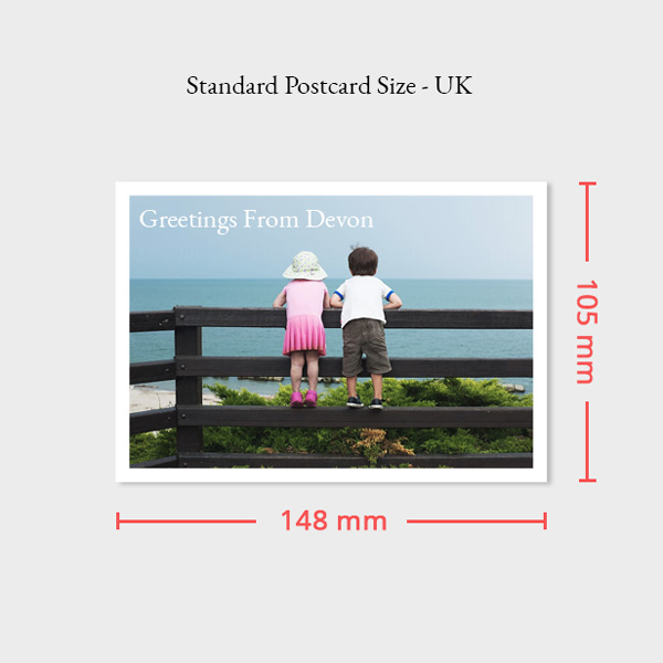 Postcard Size UK