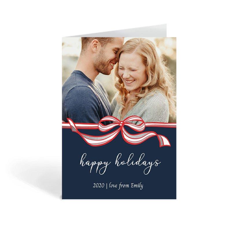 Photo Christmas Card For Partner